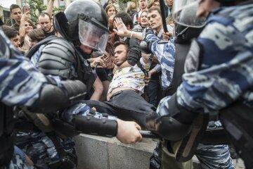 полиция россия силовики задержание