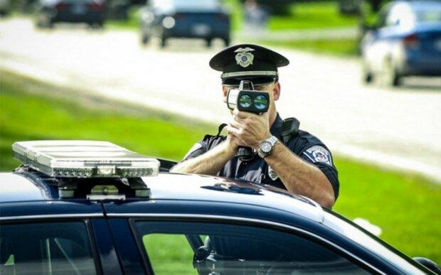 полиция, скорость на дороге, авто