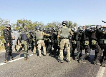 Военные с бойцами Нацгвардии отбили попытку прорыва через границу в Одесской области: кадры