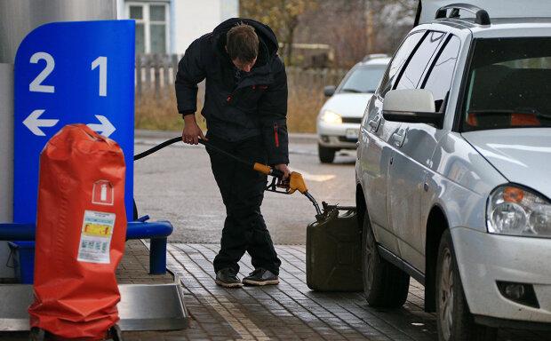 Бензин, заправка