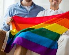 геи, лгбт, однополая пара