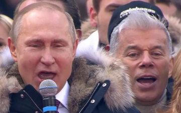 """Газманов вислужився перед Путіним, пригадавши страждання України: """"спасибі за Крим, в якому я зараз..."""""""