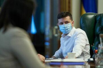 Владимир Зеленский, маска