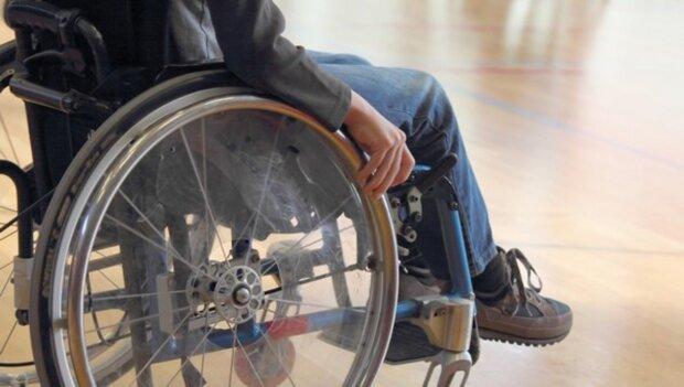інвалід, коляска