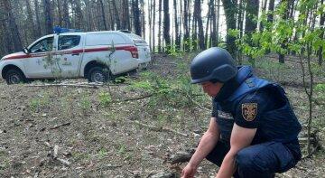 На міни і авіабомбу натрапили в Харківській області: не обійшлося без вибухів, кадри