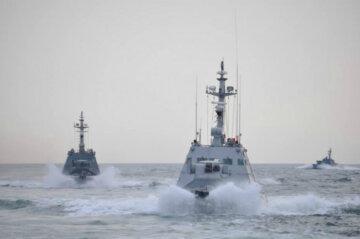 украинские корабли, катера, Бердянск, Никополь, Яны Капу