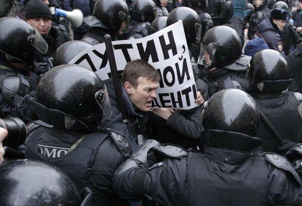 мітинг, росія