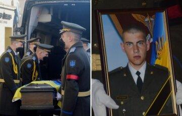 """Українці зі сльозами на очах попрощалися з полеглим на Донбасі героєм, фото: """"всього 21 рік..."""""""