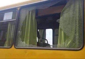 Автобус с пассажирами попал под обстрел средь белого дня: появилось фото с места ЧП в Днепре