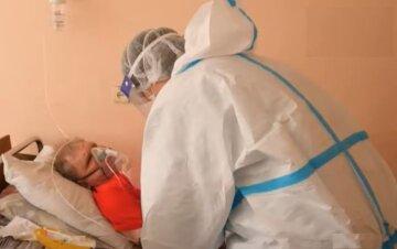 коронавірус, лікарня, лікарі, скрін