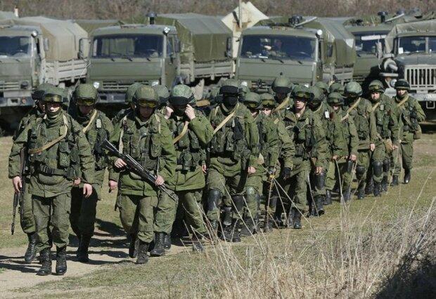 российские военные, Крым
