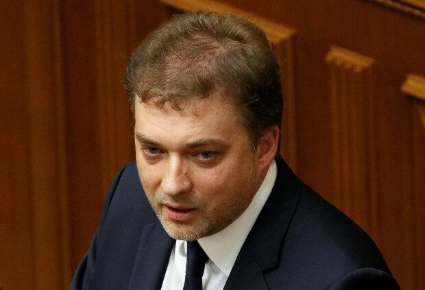 Ukrainian lawyer Zahorodnyuk attends a session of parliament in Kiev