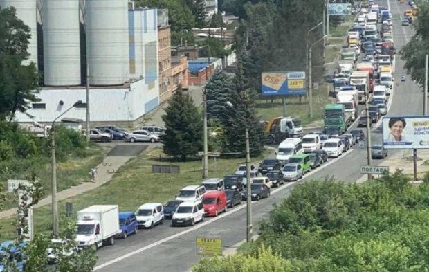 Взрыв прогремел на Полтавщине, объявлен план перехват: первые кадры происшествия