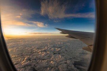 самолет, небо