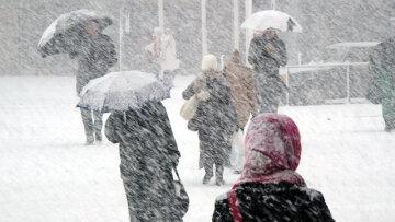 снегопад,непогода,