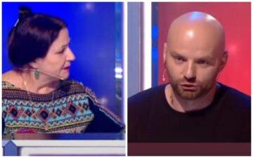 """Обурена Матвієнко поставила на місце """"друга"""" Тіни Кароль на Співають всі: """"Це неправда!"""""""
