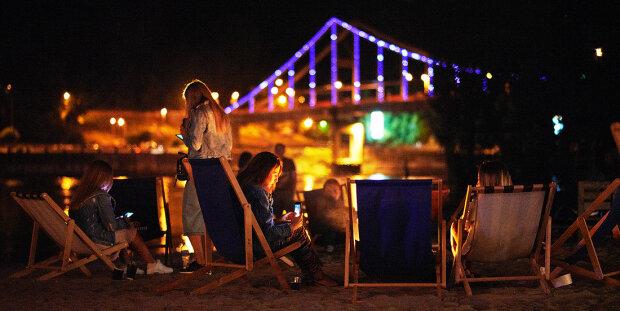 джаз, вечер, пляж