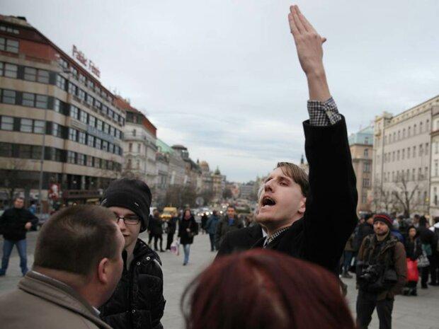 Чехия-протест