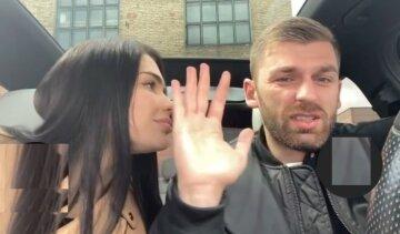 Андрій Рибак з дівчиною, Аліна смирнова, скрін