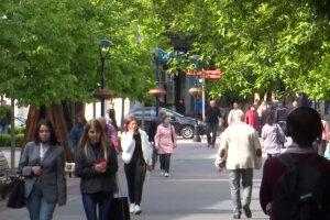 украинцы, карантин, весна