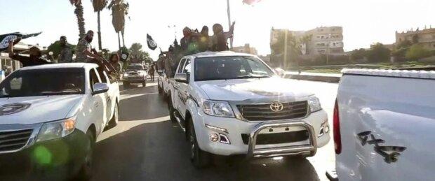 ИГИЛ ИГ Исламское государство Toyota