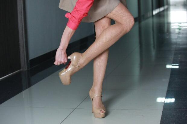красотка, ноги, туфли