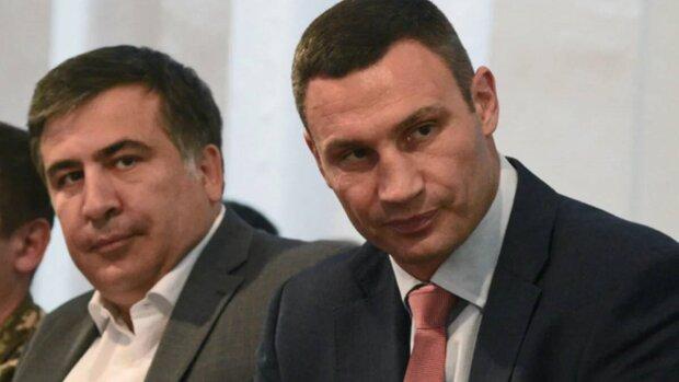 саакашвили, кличко