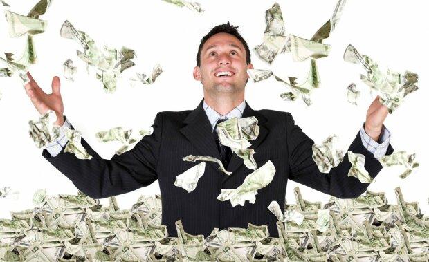 деньги, доллары, миллионер