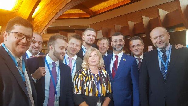 пасе, украинская делегация