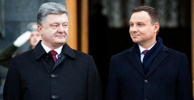 Петр Порошенко и президент Польши Анджей Дуда