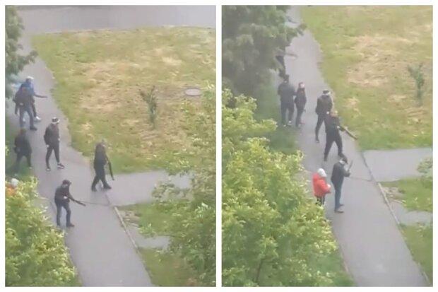 Маршрутку расстреляли под Киевом, срочно стягивают полицию: новые кадры и детали атаки