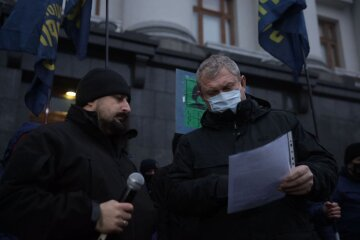 Національний Корпус протестував під ОП, Зеленському висунули чіткі вимоги: кадри та подробиці