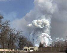 Балалкея, взрывы