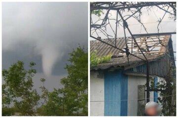 """Торнадо пронеслось по Украине, появились фото разрушений: """"Слетели крыши и повалены деревья"""""""