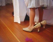 девочка, туфли