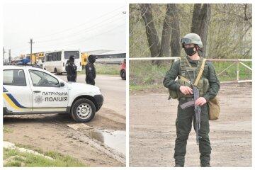 Блокпосты и проверка документов: появились кадры масштабной спецоперации СБУ в Одессе