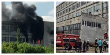Пожежа на заводі в Харкові, всередині опинилася людина: кадри і нові подробиці