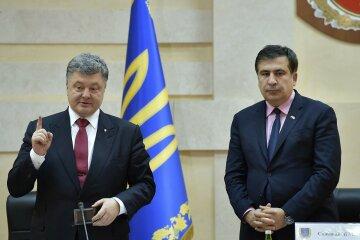 Порошенко лицом к лицу столкнулся с Саакашвили: «Сейчас покусаю…», детали конфуза