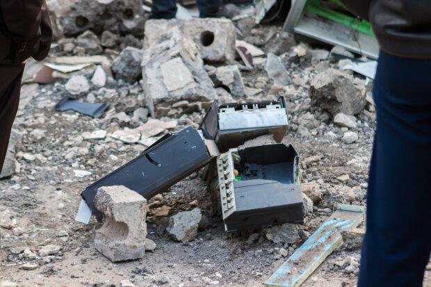 банкомат, взрыв