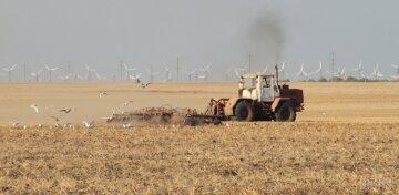 трактор урожай уборка поле