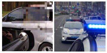 Під Києвом авто на великій швидкості влетіло в лося: деталі і моторошні кадри