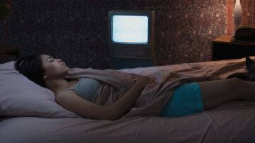 спать, сон, телевизор