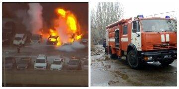 На Харьковщине сгорели автомобили: спасатели раскрыли детали, фото