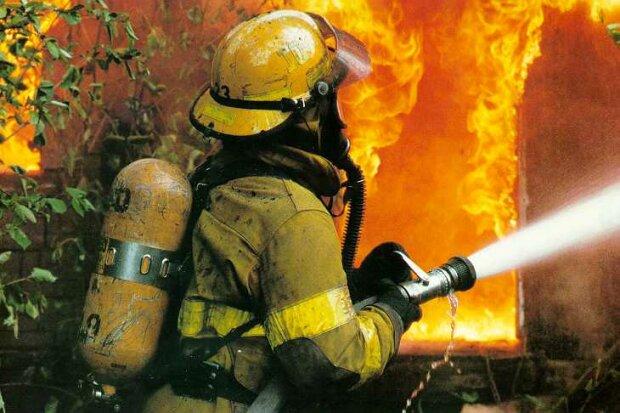 пожар, пожарники,