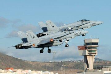 F-18 Испания НАТО истребитель