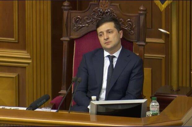 Володимир Зеленський, Верховна Рада