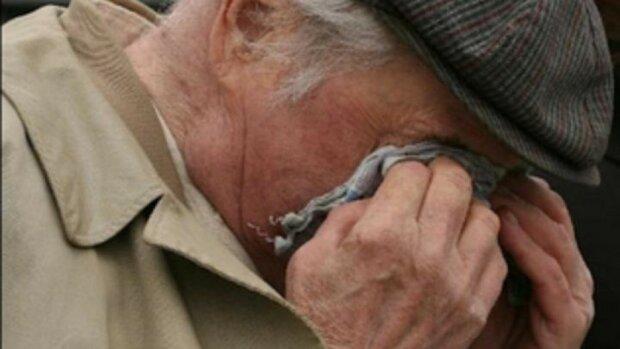 пенсионер избиение