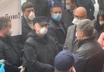 Порошенко, Турчинов, Яценюк