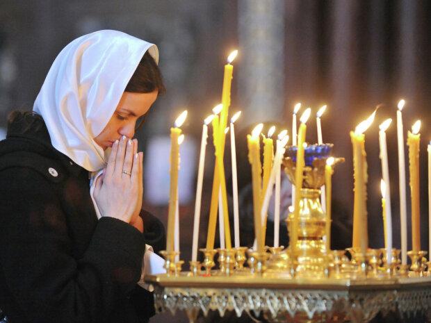 рождественский пост, церковь, свечи
