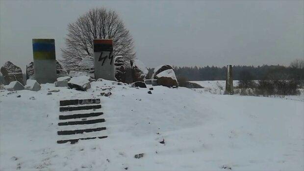 Памятник в Гуте Пеняцкой